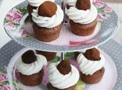 Mini cupcakes avec truffes chocolat