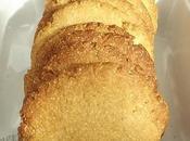Cookies polenta sucre rapadura