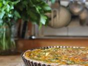 Tarte spécial restes fanes soupe carottes