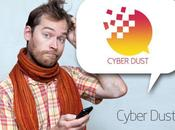 Avec l'application Cyber Dust, s'auto-détruisent après lecture.