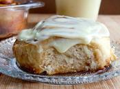 Cinnamon Rolls with Mascarpone Cream Cheese Frosting Brioches Cannelle leur glaçage Fromage Frais