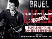 date supplémentaire pour Patrick Bruel Stade Pierre Mauroy Lille.