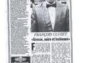 Francois Cluzet, grosse, noire lesbienne, fait toujours buzz