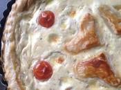 Quiche thon, mozzarella tomates