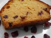 Cake chocolat blanc cranberries