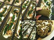 Sauce crémeuse chou-fleur, faussement alfredo, lasagnes