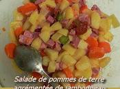 Flaure testé.... salade pommes terre
