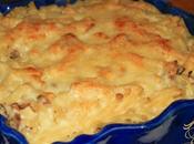 Gratin Macaroni Champignons