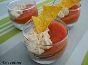 Gelée tomate mascarpone miel gagner