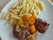Joues porc carottes Römertopf