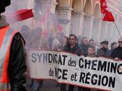 cheminots grève contre réforme férroviaire