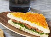 COUPE MONDE FOOT: idées food! soir, chic party Bristol sandwich saumon maison!