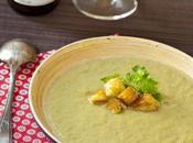 Soupe d'asperges rôties provençale: parce c'est semaine Fraich'attitude!