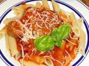 Pennes boulettes veau sauce tomates petits legumes