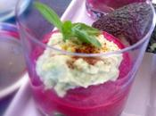 Mousse betterave avocat