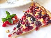 Tarte faisselle fruits rouges