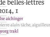 [revues] Revue Belles-Lettres, 2014, Alain Lance