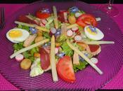 Salade perigourdine facon
