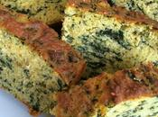 Cake salé épinards sans gluten