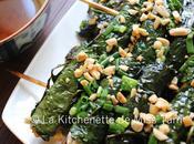 Brochettes tofu feuilles lolot (Tàu lốt)