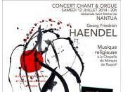 premier grand concert l'été Nantua Orgue chant avec l'ensemble Ebalides Florence Grasset