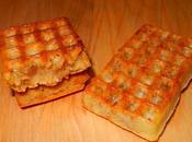 Minis gaufres vanille pralin