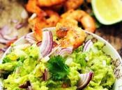 vendredi c'est retour vers futur… Guacamole crevettes épicées disfrutar