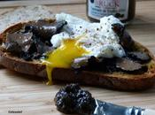 TARTINE TAPENADE TRUFFES D'ETE & OEUF MOLLET