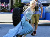 Once Upon Time, saison Premier aperçu d'Elsa Reine Neiges) tournage