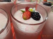 Mousse fraises