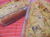 Cakes farine pois chiche, courgette jaune tomate