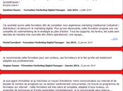formation marketing digital manager unique France