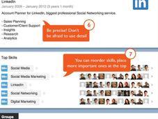 conseils pour améliorer votre profil LinkedIn