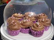 Cupcakes chocolat nutella