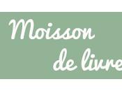 Moisson livres Julllet 2014