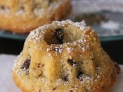 Minis bundt cakes amandes