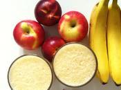 Aujourd'hui, j'ai testé smoothie pomme, nectarine, banane soupçon cannelle