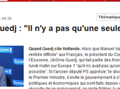 Hollande #TINA, travesti