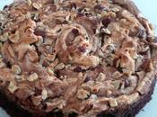 Gâteau chocolat noisette meringué version avec sans gluten