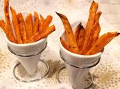 Frites patate douce four