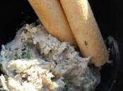 Tartinade d'anchois fromage chèvre
