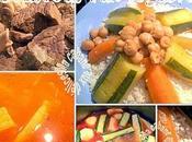Recette couscous marocain legumes pois chiches