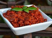 Tartinade tomates séchées basilic