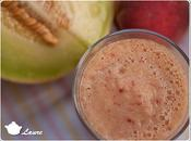 Smoothie pêche-melon