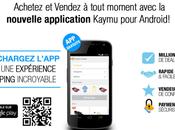 Kaymu lance application Android