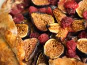 Crostata figues framboises frangipane