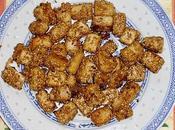 Bouchées tofu sésame