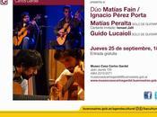 Museo Casa Carlos Gardel accueille Conservatoire Manuel Falla l'affiche]