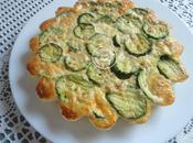 Flan courgettes