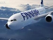 compagnie Finnair fait voler avion avec l'huile friture recyclée